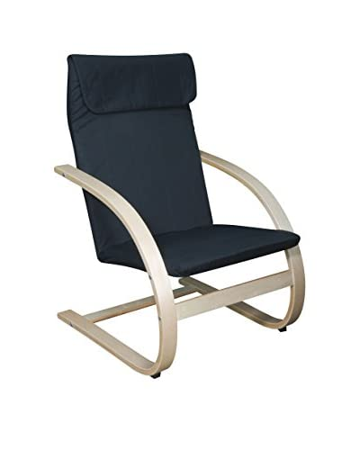 Niche Mia Reclining Bentwood Chair, Natural/Black