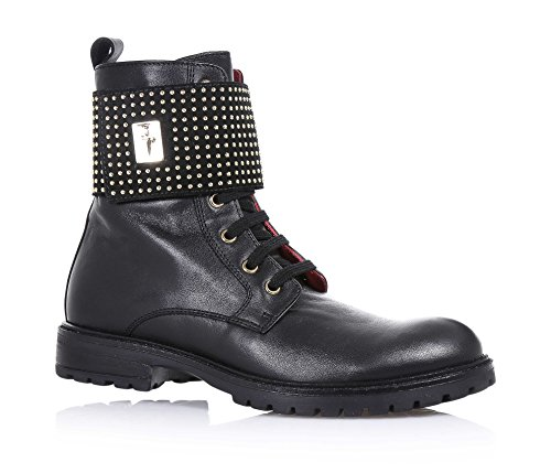 cesare-paciotti-black-lace-up-boot-made-of-leather-with-velcro-closure-application-of-small-studs-on
