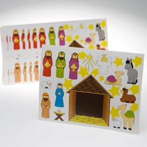 SALE Make A Nativity Stickers Sale*