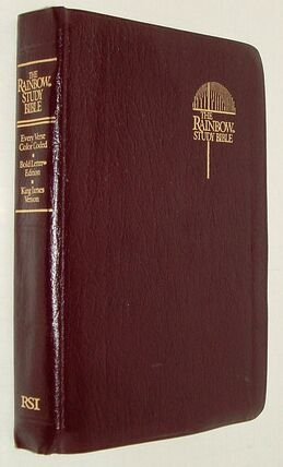 The Rainbow Study Bible: Holy Bible Containing the Old and New Testaments, King James Version (Color Coded Bible compare prices)