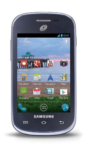 Samsung Galaxy Centura Android Prepaid Phone with Triple Minutes (Tracfone)