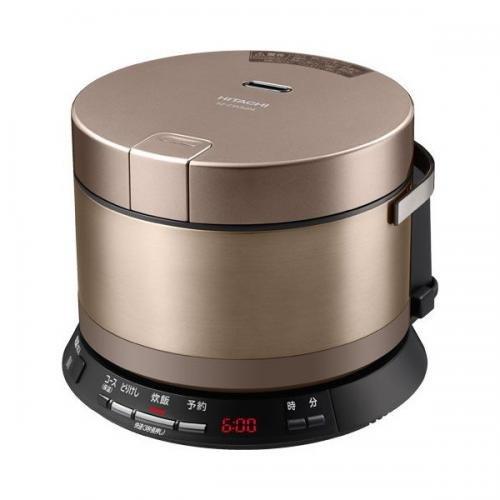 日立 IH 炊飯器 打込鉄釜 おひつ御膳 2.0合 ブラウンゴールド RZ-VS2M N
