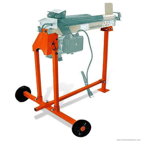 Woodeze Orange 4-Ton Electric Log Splitter Stand