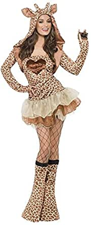 Flirty Giraffe Wild Animal Womens Costume