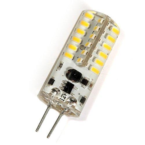 Toogoo(R) G4 2W 48 Led 3014 Smd White Marine Boat Light Bulb Lamp Ac/Dc 12V 6500K