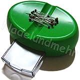 Magnet-Nadelkissen, grün, mit Stecknadeln