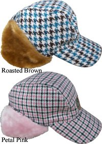 Burton Sherlock Womens Cap, medium/large - roasted brown
