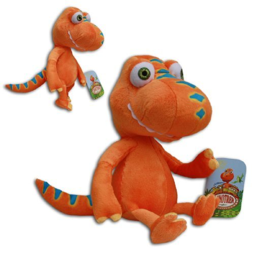 Buddy-Tyrannosaurus-10-Orange-Dinosaur-Train-New-Soft-Doll-Toy-Plush-Cartoon-TV-Serie-Jim-Henson-by-Play-by-Play