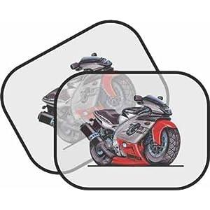Thundercat on Personalised Koolart Yamaha Thundercat Bike Car Sunscreen  Amazon Co