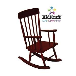 Kidkraft Spindle Rocking Chair - Cherry
