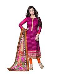 DivyaEmporio Women's Ethnic Salwar Suit Dupatta Unstitched Dress Material (Free Size) - B00V07S10I