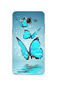MiiCreations 3D Printed Back Cover for Samsung Galaxy On5,Butterfly Pattern
