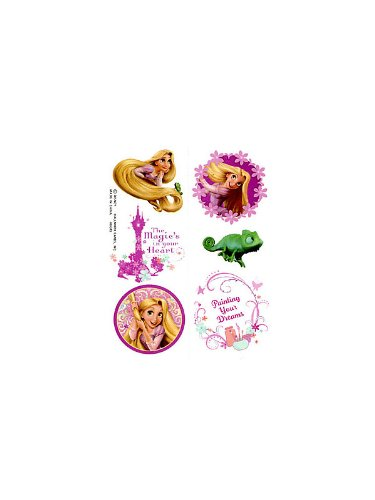 Disney's Tangled Tattoos (2-pack) - 1