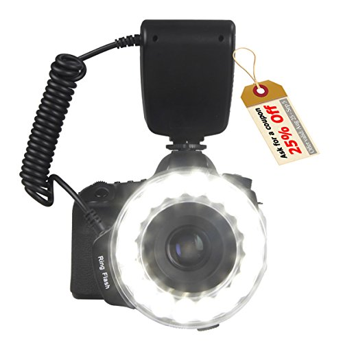 SAMTIAN-RF-600D-18-LEDs-Ultra-Bright-Macro-LED-Ring-Flash-Versatile-Lighting-for-Macro-Close-up-Photography-For-Canon-Nikon-Sony-Mi-Hot-Shoe-and-Other-DSLR-Cameras