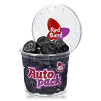 Red Band Licorice Coins / Cup / 200g