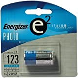 Energizer : e2 Lithium Photo Battery, 123, 3V -:- Sold as 2 Packs of - 1 - / - Total of 2 Each