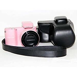 Triline Protective Case Bag Cover Protector for Samsung NX1000 Camera / 20-50mm Lens / With Strap / Durable / Black