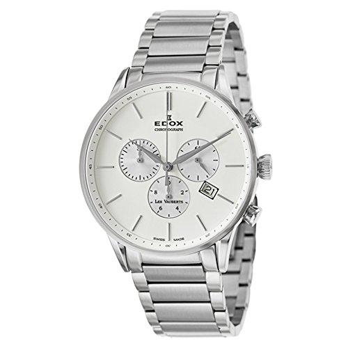 Edox Les Vauberts reloj hombre cronógrafo 10409 3A AIN