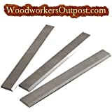 15 x 1 x 1/8 Carbide Planer Knives, Delta, Grizzly, Woodtech, etc.