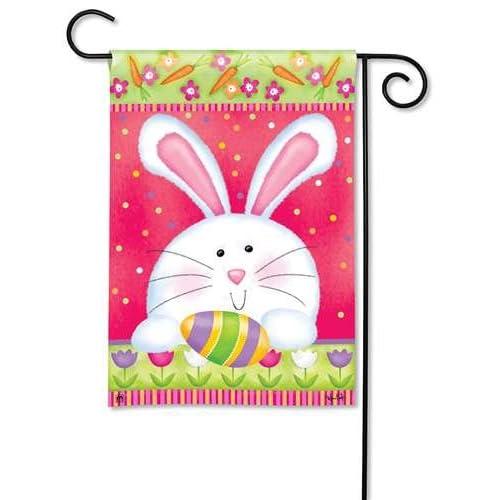 Hippity Hop Easter Garden Flag
