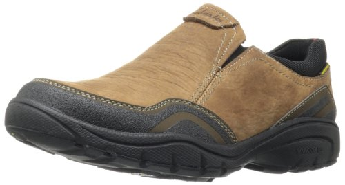Clarks Men's Wave.Tackle Slip-On,Tan Nubuck,10.5 M US
