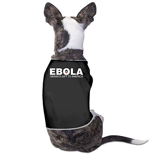 LeeRa Ebola Obama's Gift To Africa Design Dog Shirt (Star Trek Shirt Colors Meaning)