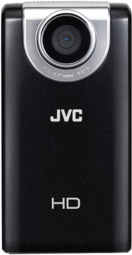 JVC Picsio GC-FM-2 Pocket Video Camera (Black) NEWEST VERSION