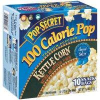 Case Of Pop Secret Kettle Corn Microwave Popcorn 100 Calorie Bags, 1.12 Oz (6 Total)