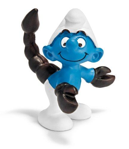 Schleich Scorpio Smurf Figure - 1