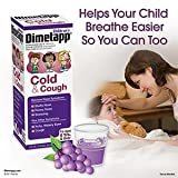 Childrens Dimetapp Cold and Cough Grape Flavored Cough Syrup 4 Ounce Bottle (Pack of 3)