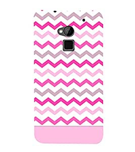 Chevron Girl Cross Design 3D Hard Polycarbonate Designer Back Case Cover for HTC One Max