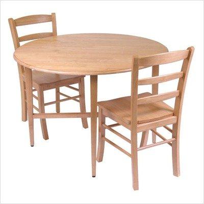 Basics Drop Leaf Kitchen Table & Chair Set