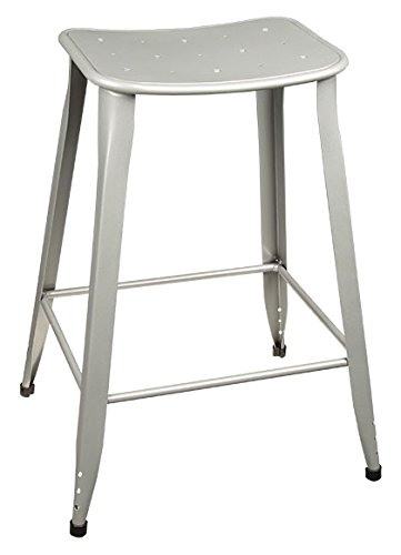 Norwood mercial Furniture Contoured Metal Stool