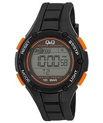 Q&Q Digital Grey Dial Mens Watch - M129J003Y