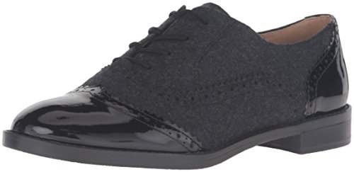 Franco Sarto Women's L-Imagine Oxford, Black, 8 M US