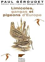 Limicoles, gangas, pigeons d'Europe