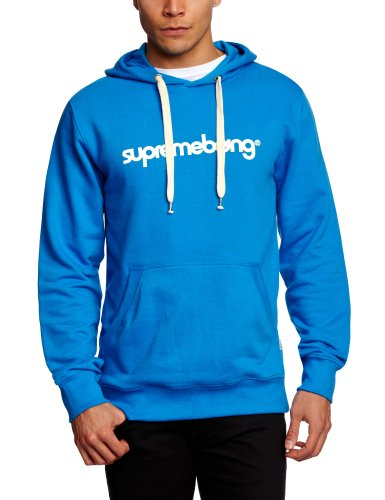 Supremebeing Basic Hood Supermodified Men's Sweatshirt Shore Blue X-Large