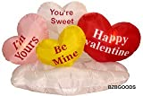 5 Foot Valentine's Inflatable Hearts & Cloud - Yard Blow Up Decoration, Romantic Valentines Gift for Couples, Cute Gift Idea