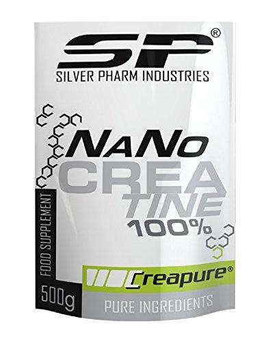100% NaNo Creatine Creapure Silver Pharm 500g Kreatinpulver