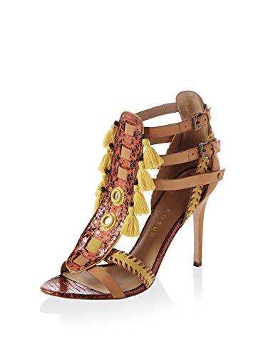 KOTUR Women's Guzel Snakeskin Sandal