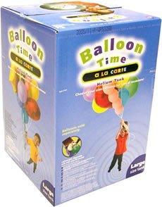 Helium Gas Refill For Air Swimmers & Party Balloons