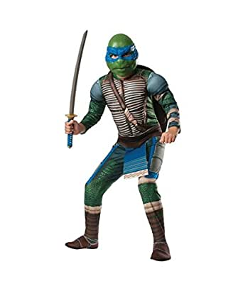 Ninja Turtles deluxe Leonardo Boys Costume