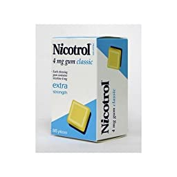 Nicotrol Gum 4 mg Classic Flavor 12 Boxes 105 Pieces