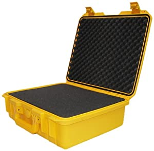 Vault Case Waterproof Airtight Case, Yellow, 12-Inch