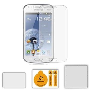 6 x Membrane Pellicola Protettiva per Samsung GT-S7562 Galaxy S Duos - Crystal Clear (Invisible), Antigraffio Protezione Schermo, Confezione Originale ed accessori