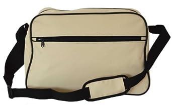 Euro Retro Shoulder Bag Messenger In 10 Colours (Beige)