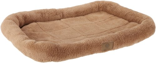 American Kennel Club Pet Crate Mat, Small, Tan front-581371