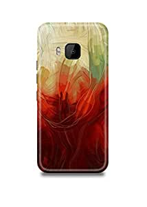 Abstract Art HTC M9 Case