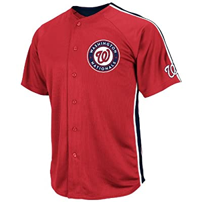 MLB Washington Nationals Crosstown Rivalry Jersey, Red/Navy/White