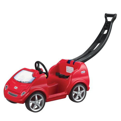 Little Tikes-Mobile Ride-On Push Car, Red - 1